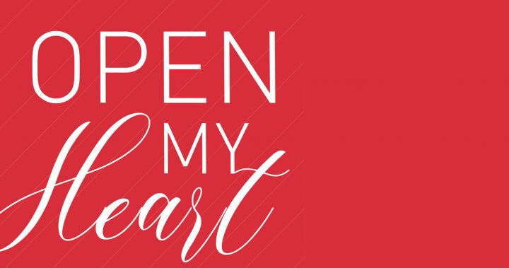 Cover Image – Open My Heart